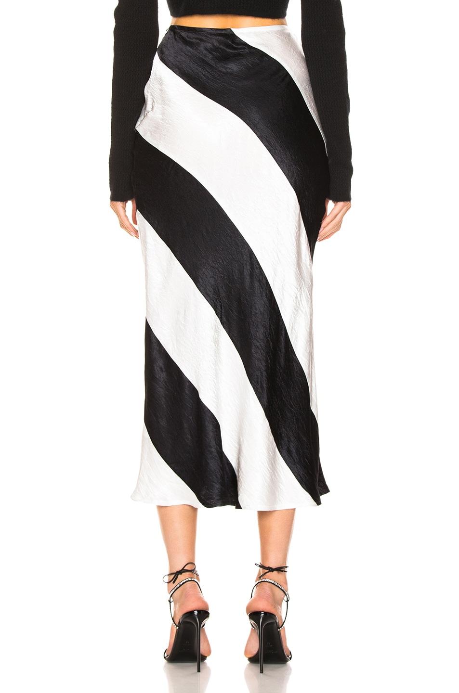 Image 3 of GEORGIA ALICE Delilah Skirt in Black & White