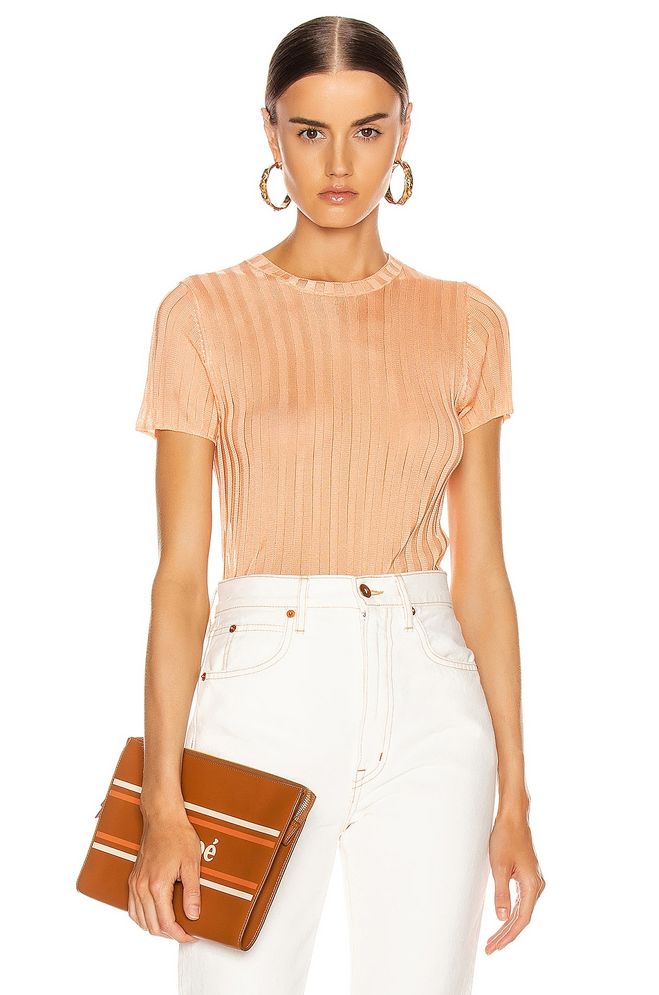 Image 1 of GEORGIA ALICE Lola Top in Peach