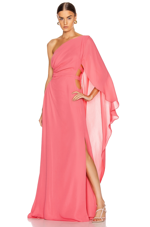 Image 1 of Cult Gaia Cosette Dress in Bubblegum
