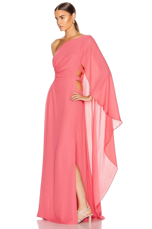 Image 3 of Cult Gaia Cosette Dress in Bubblegum