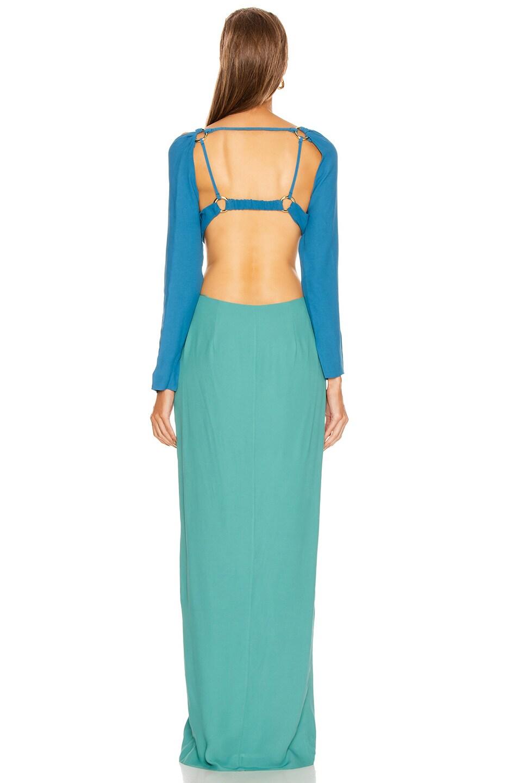 Image 3 of Cult Gaia Priya Dress in Seafoam