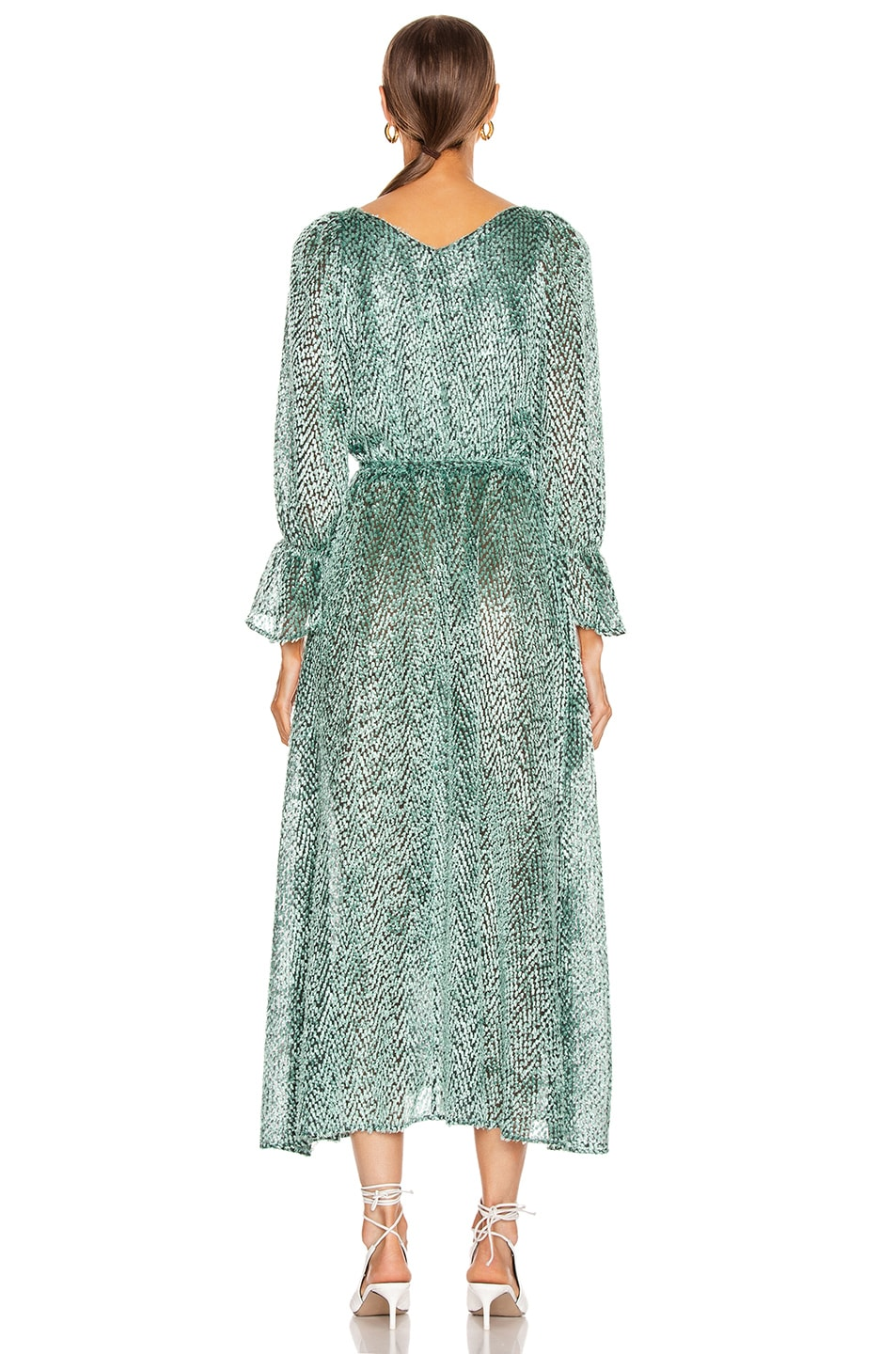 Image 3 of Cult Gaia Oona Dress in Seafoam