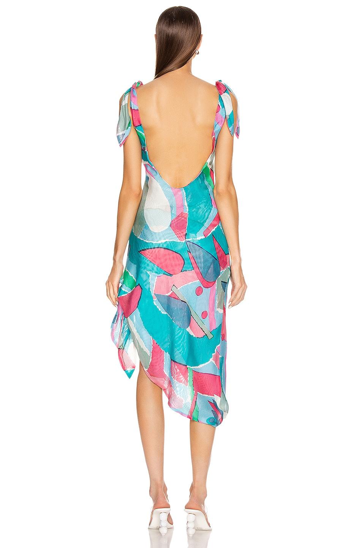 Image 4 of Cult Gaia Delilah Dress in Surf Multi