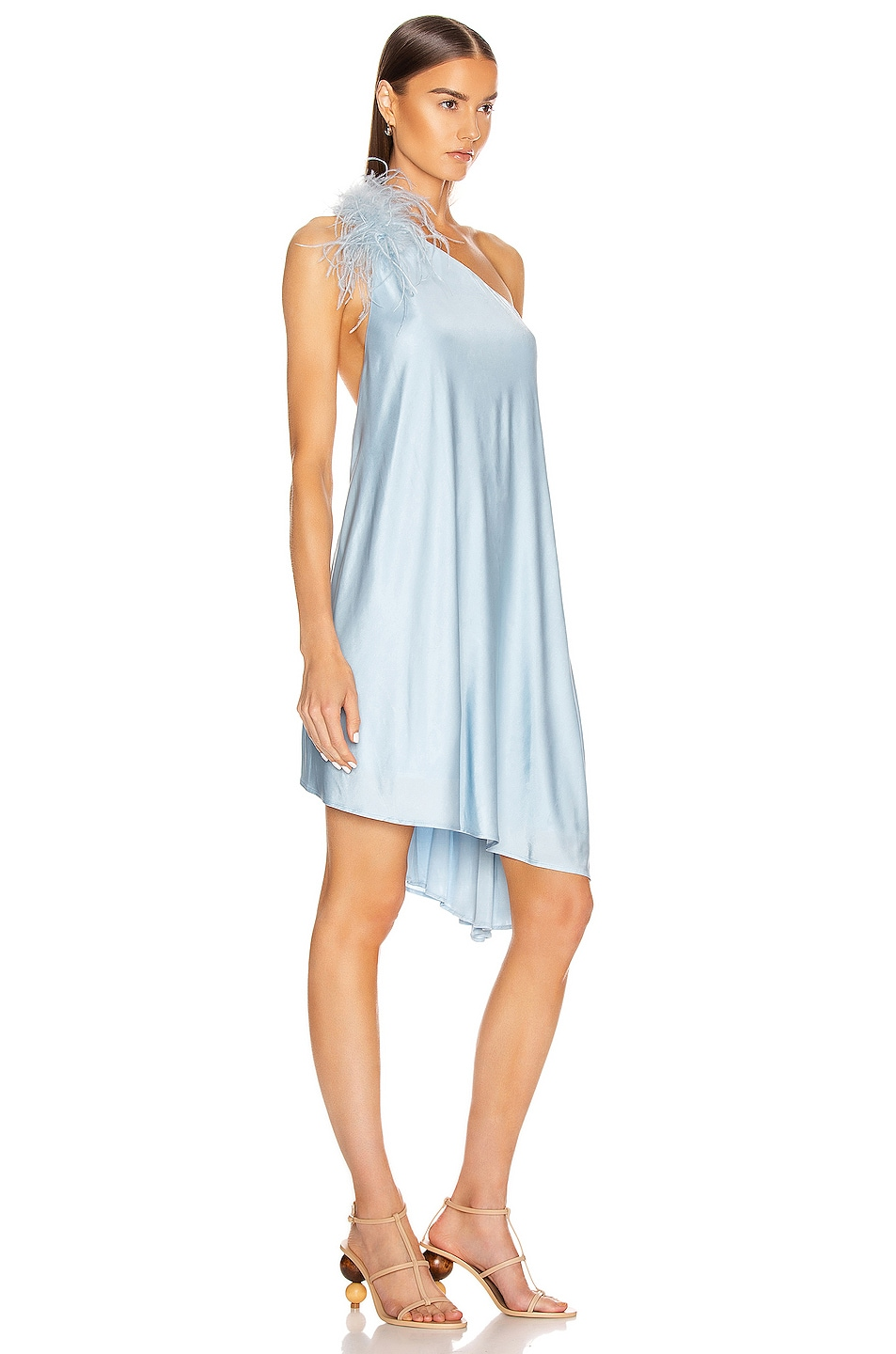 Image 3 of Cult Gaia Flo Dress in Sky