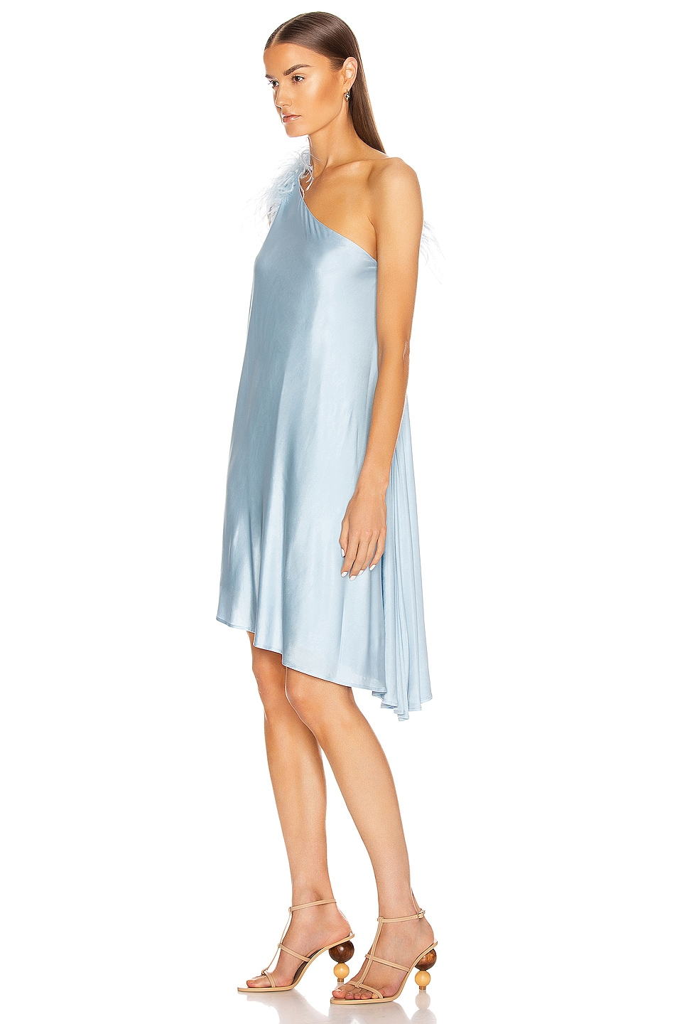Image 4 of Cult Gaia Flo Dress in Sky