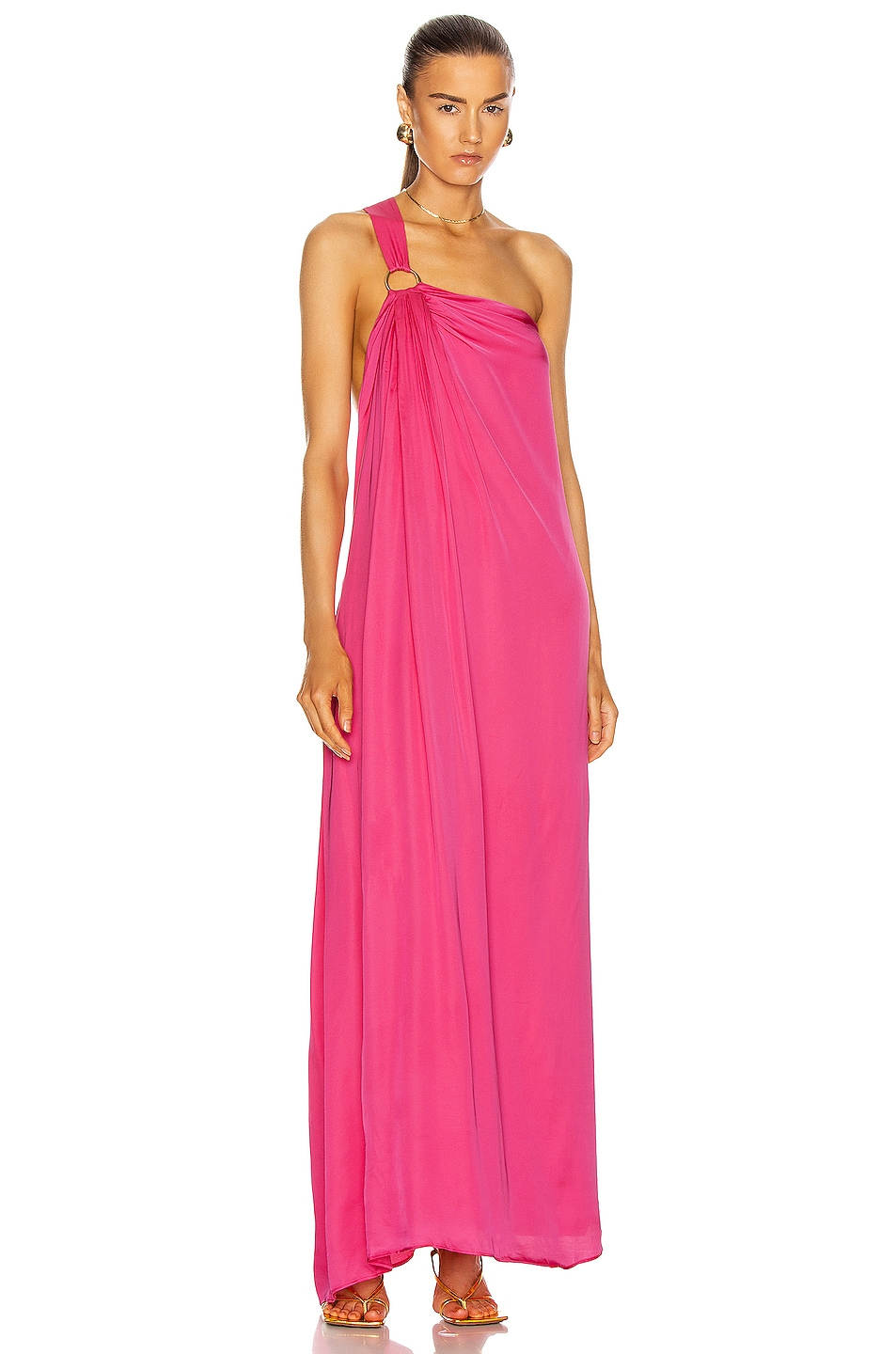 Image 1 of Cult Gaia Theodora Gown in Flamingo