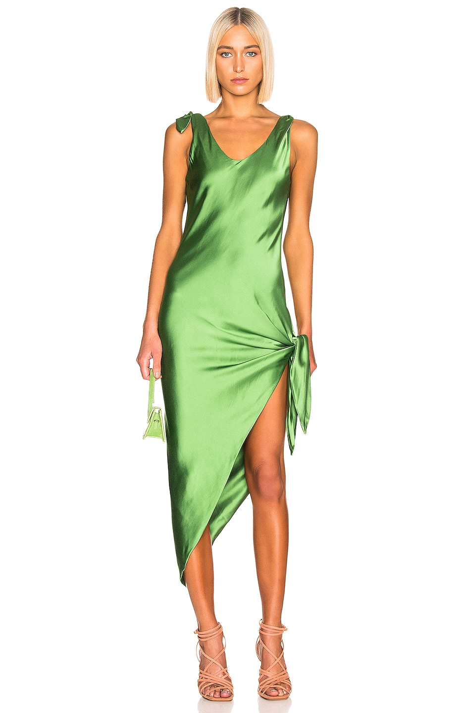 Image 1 of Cult Gaia Dehlila Dress in Fern
