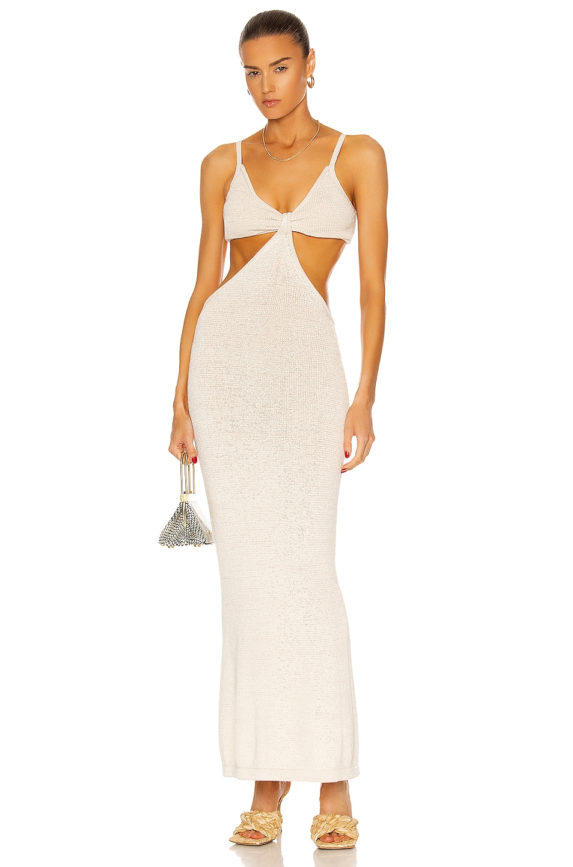 Image 1 of Cult Gaia Serita Dress in Off White