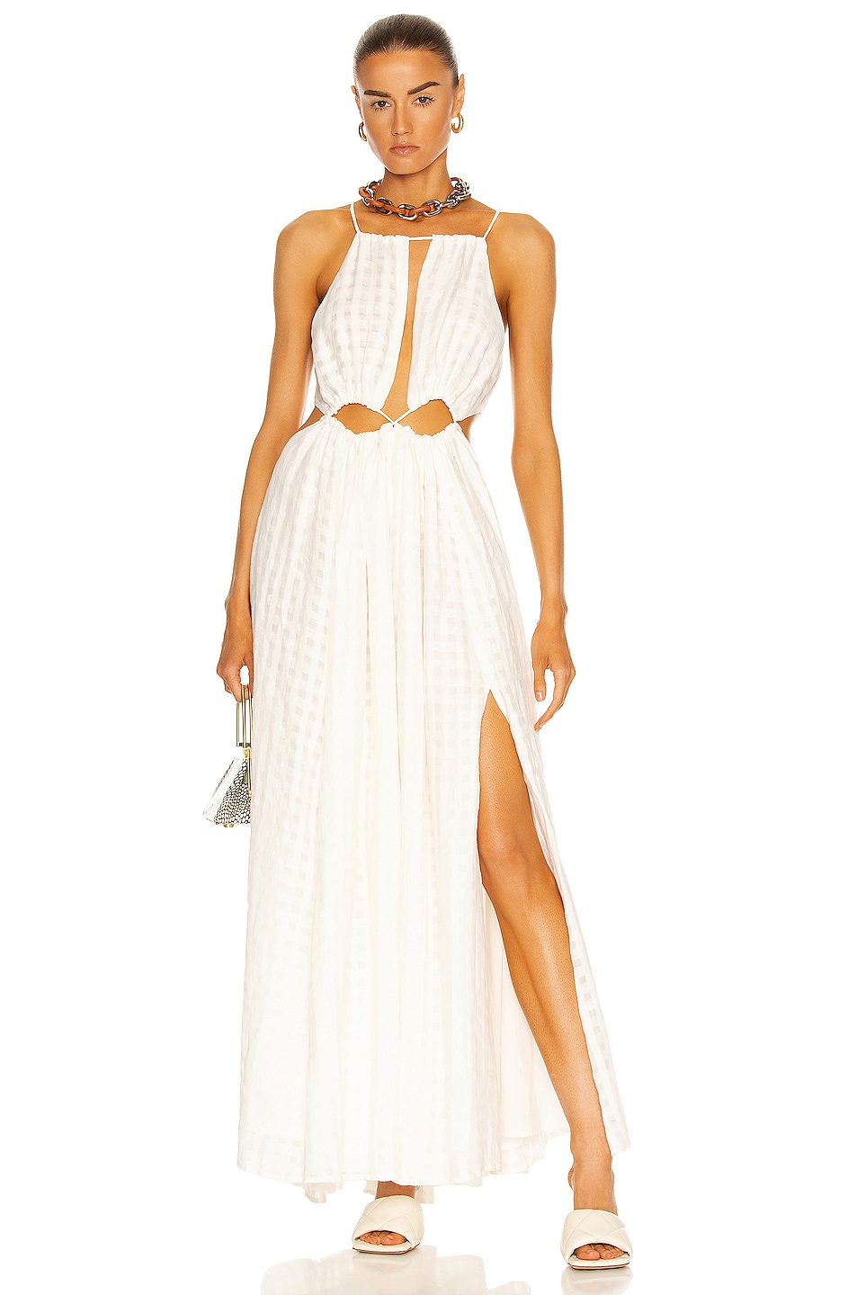 Image 1 of Cult Gaia Thera Dress in White