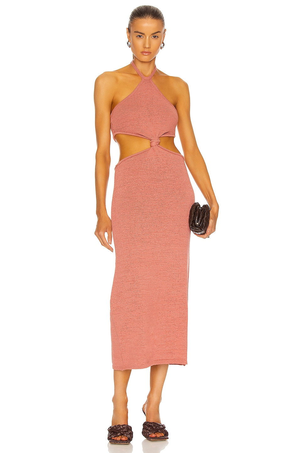 Image 1 of Cult Gaia Cameron Knit Dress in Jaipur