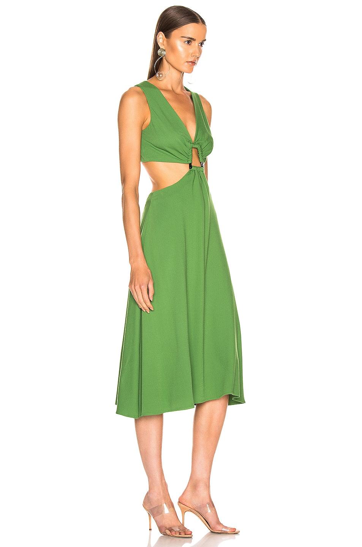 Image 2 of Cult Gaia Cybele Dress in Fern