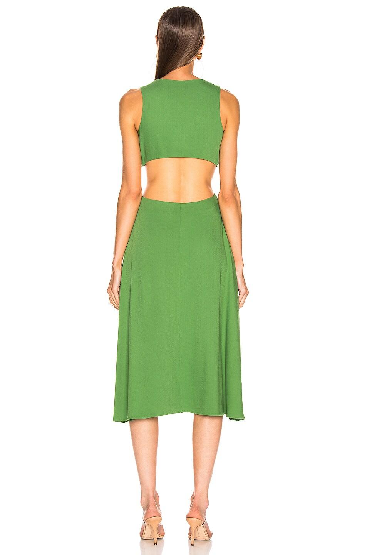 Image 3 of Cult Gaia Cybele Dress in Fern