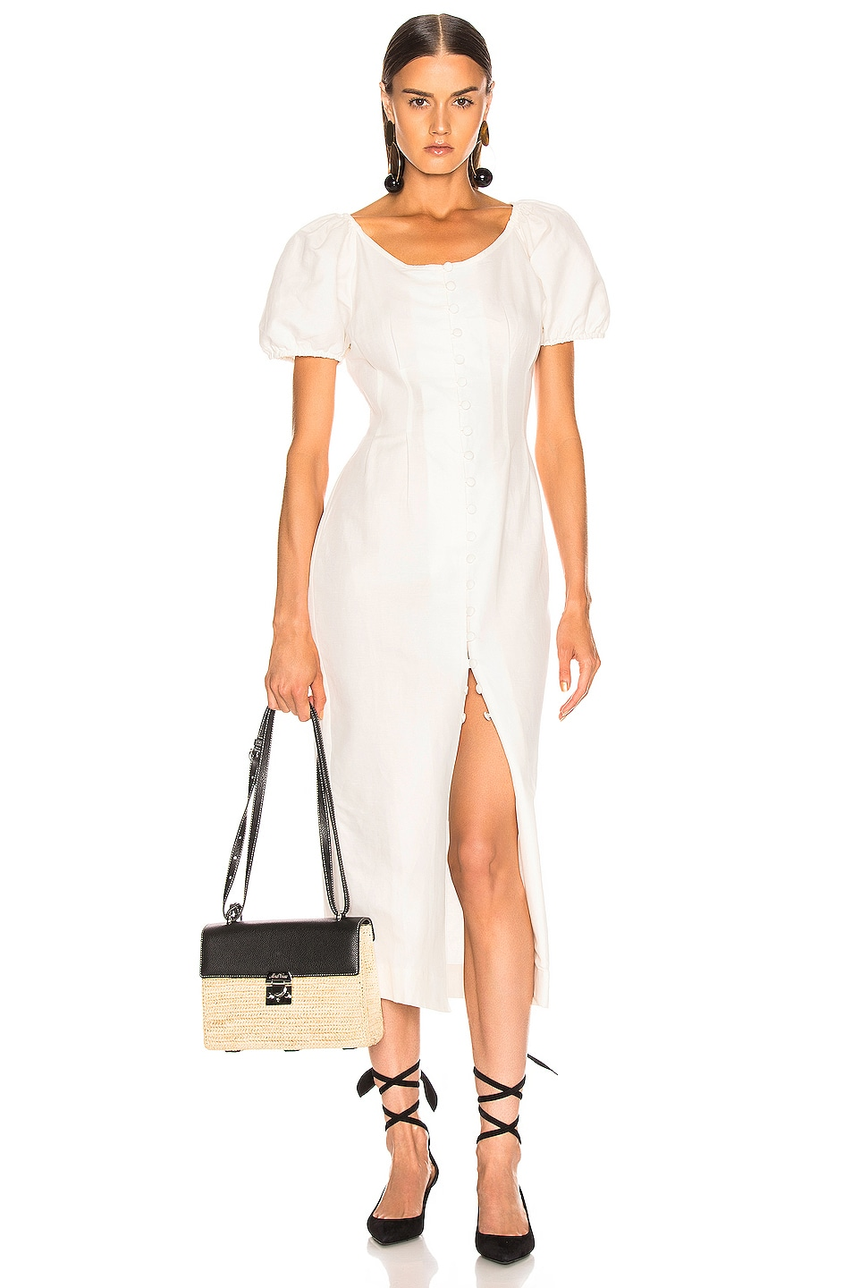 Image 1 of Cult Gaia Charlotte Dress in White