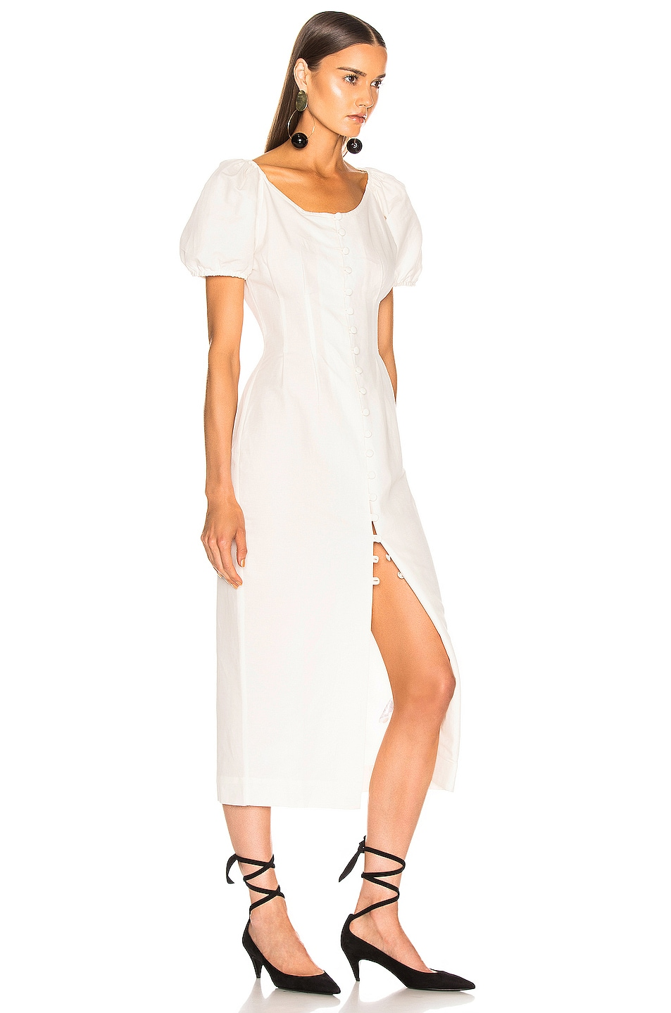 Image 2 of Cult Gaia Charlotte Dress in White