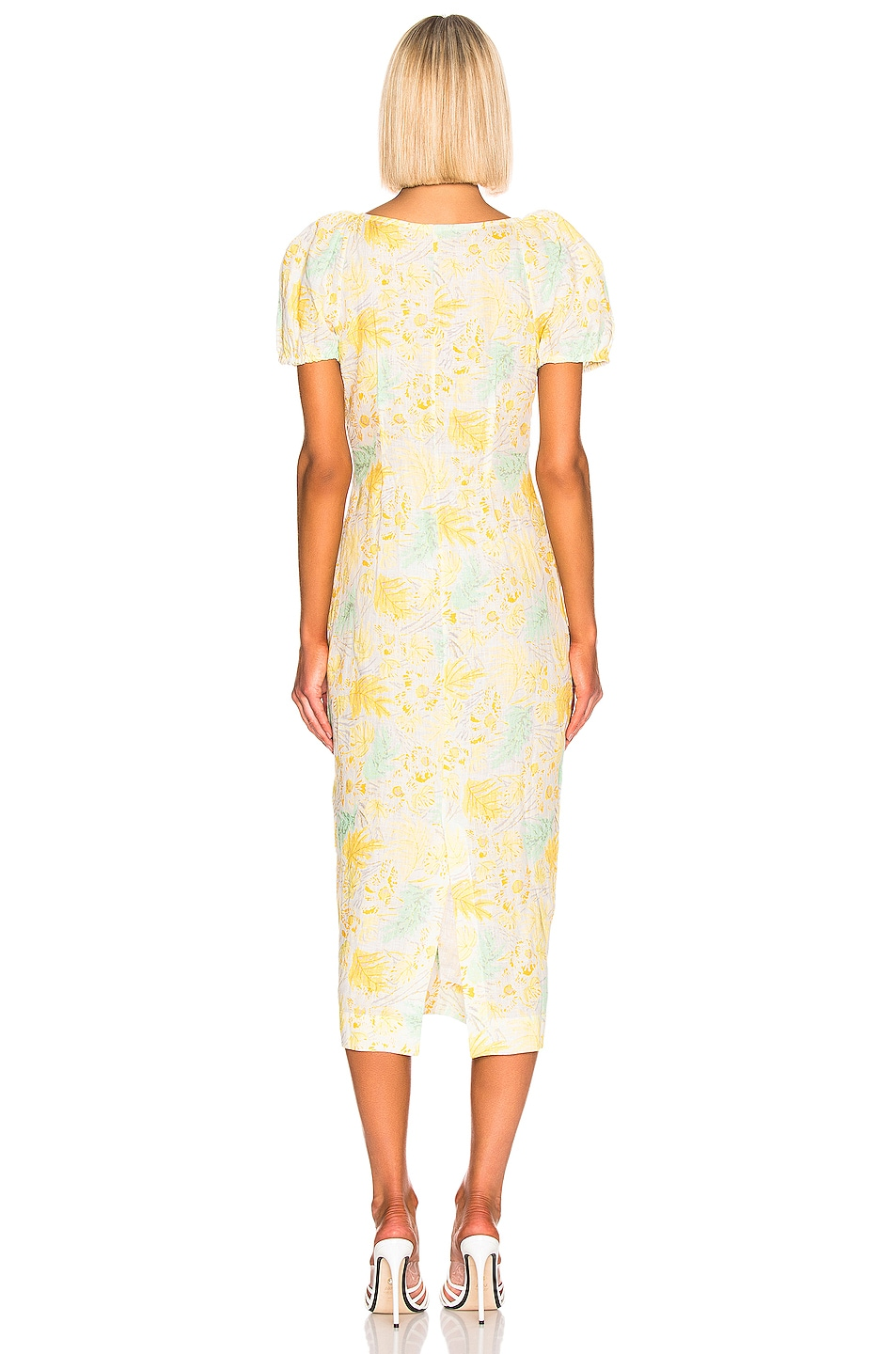 Image 3 of Cult Gaia Charlotte Dress in Lemonade Multi
