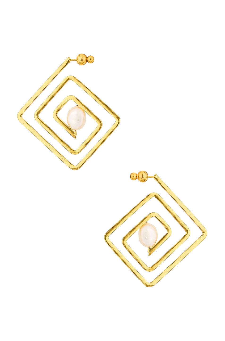 Image 1 of Cult Gaia Ciara Earring in Gold