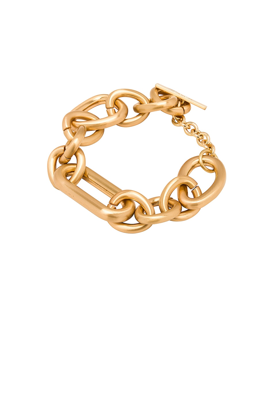 Image 1 of Cult Gaia Reyes Anklet in Brushed Brass