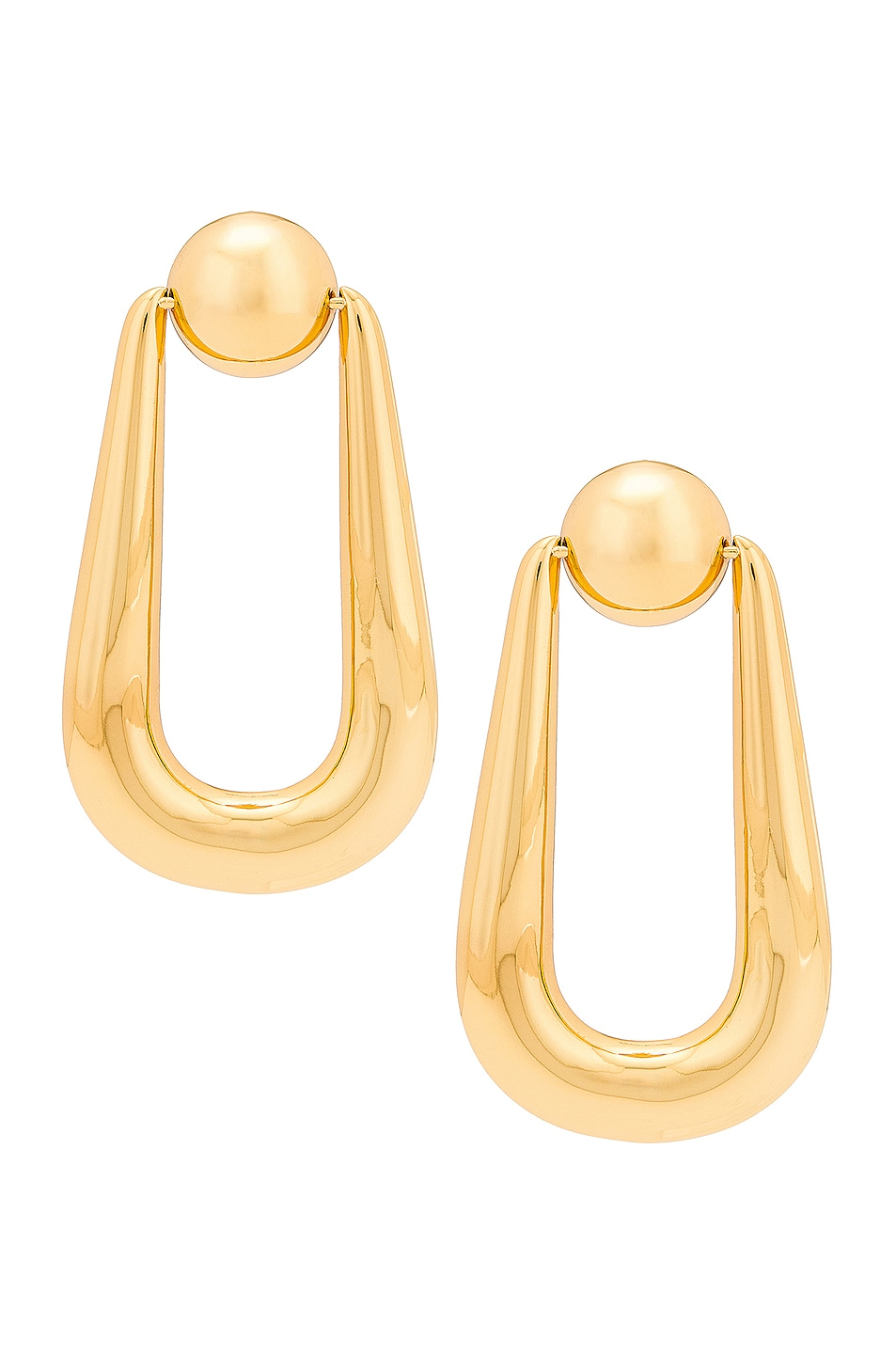 Image 1 of Cult Gaia Brea Earring in Gold