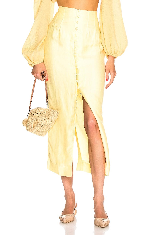Image 1 of Cult Gaia Hera Skirt in Lemonade