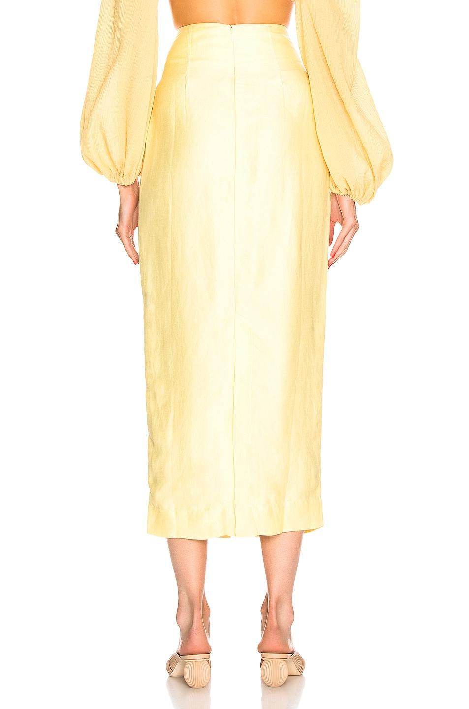 Image 3 of Cult Gaia Hera Skirt in Lemonade