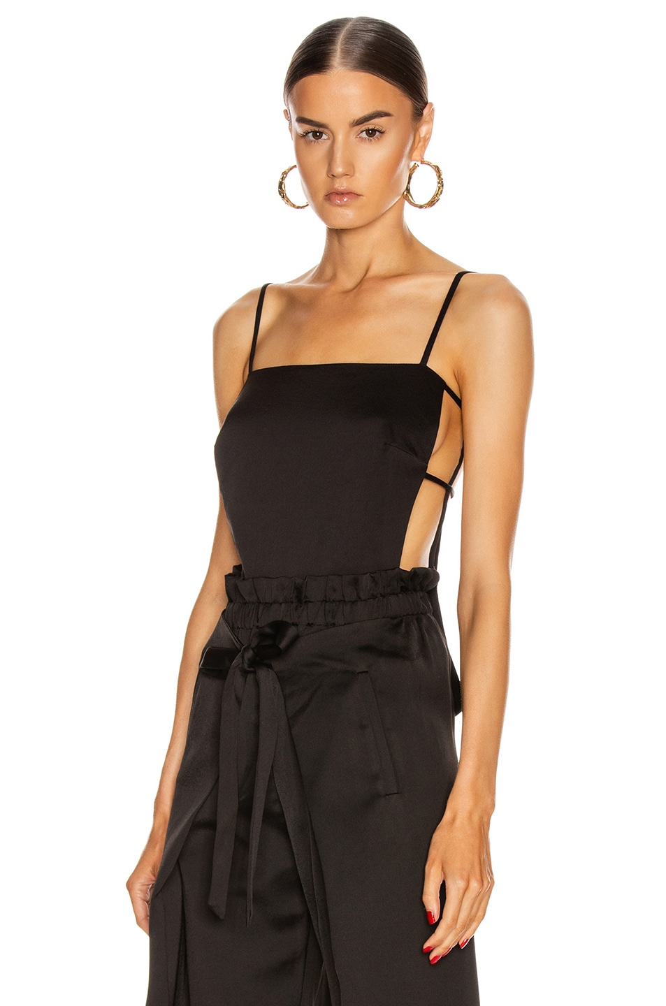 Image 1 of Cult Gaia Simone Top in Black
