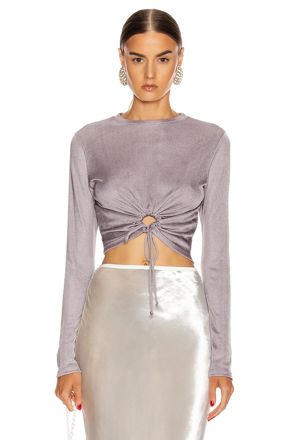 Image 1 of Cult Gaia Chloe Top in Stone