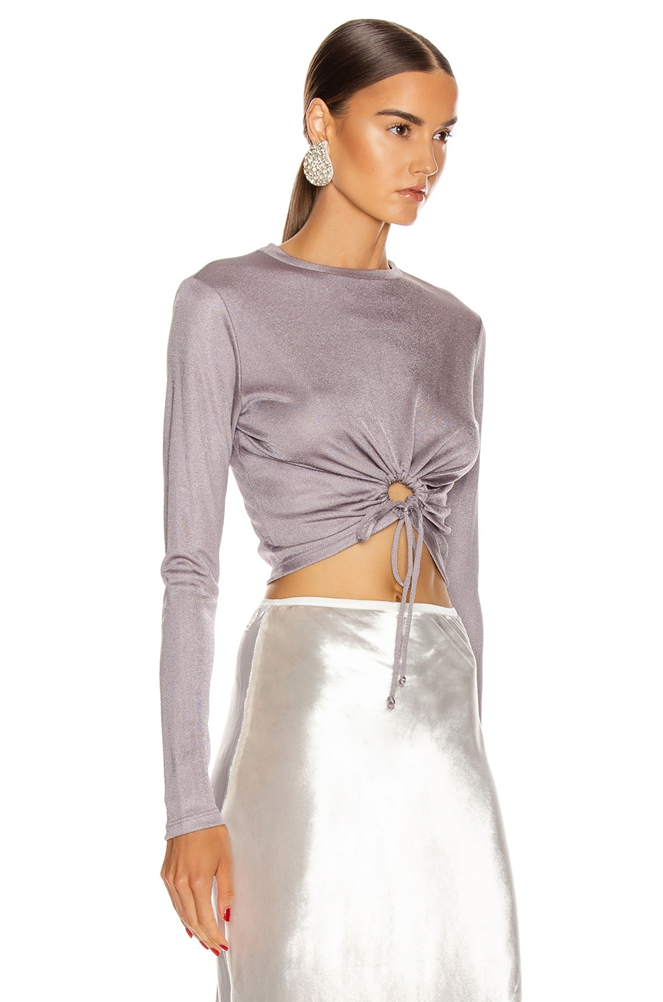 Image 2 of Cult Gaia Chloe Top in Stone