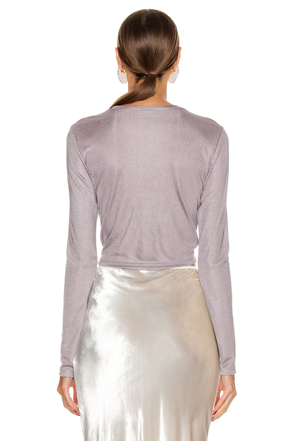 Image 3 of Cult Gaia Chloe Top in Stone