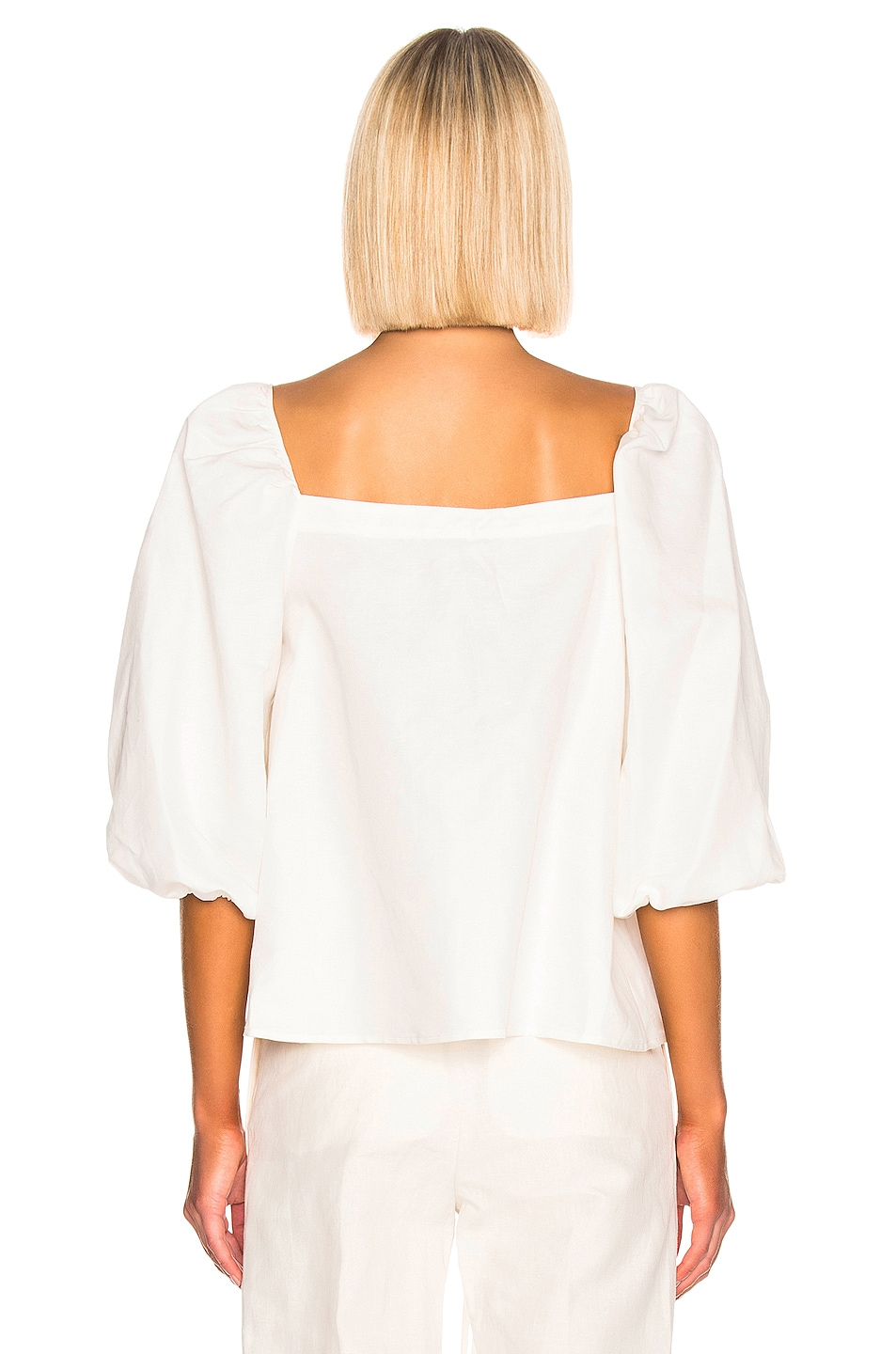 Image 3 of Cult Gaia Aurel Top in White