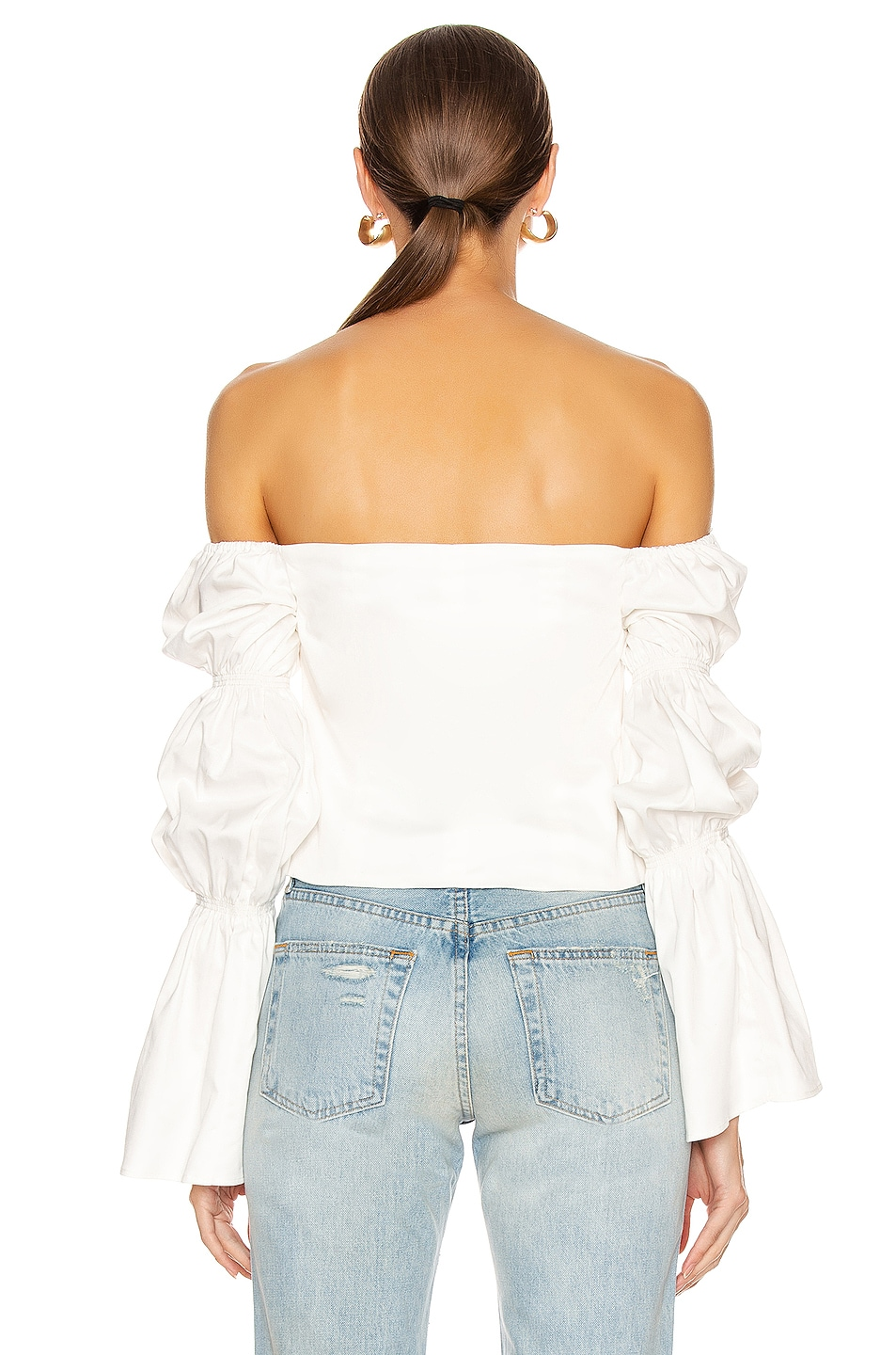 Image 3 of Cult Gaia Claire Top in White