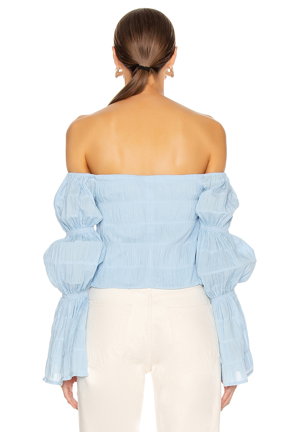 Image 3 of Cult Gaia Claire Top in Bluebell