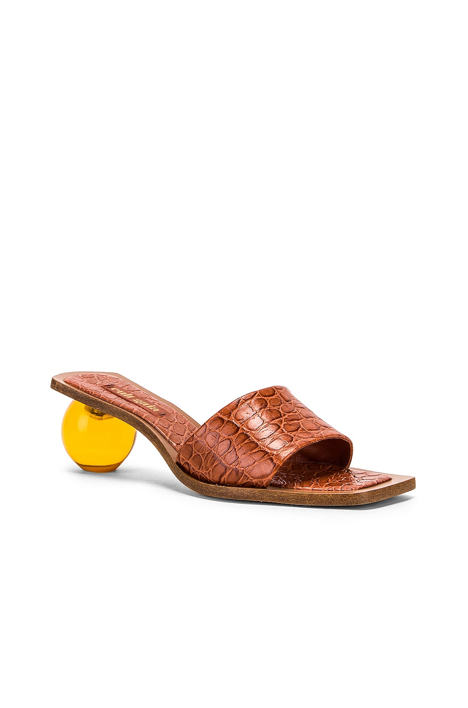 Image 2 of Cult Gaia Tao Sandal in Spice