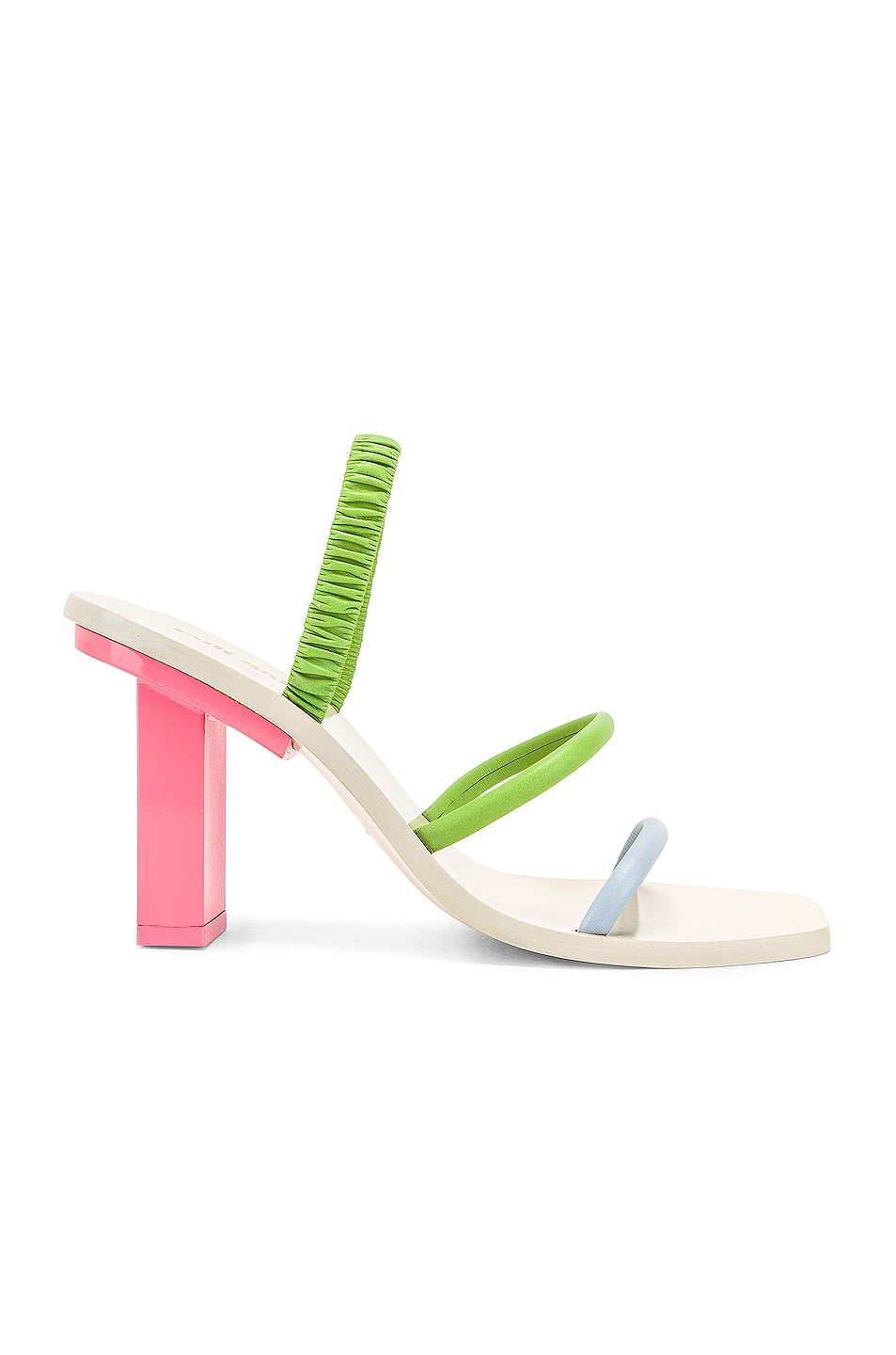 Image 1 of Cult Gaia Kaia Heel in Bubblegum Multi