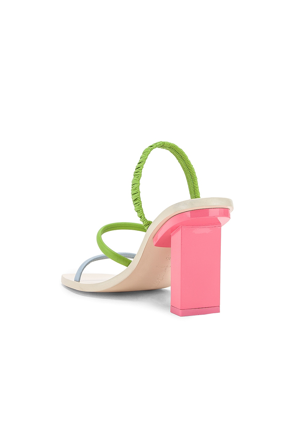 Image 3 of Cult Gaia Kaia Heel in Bubblegum Multi