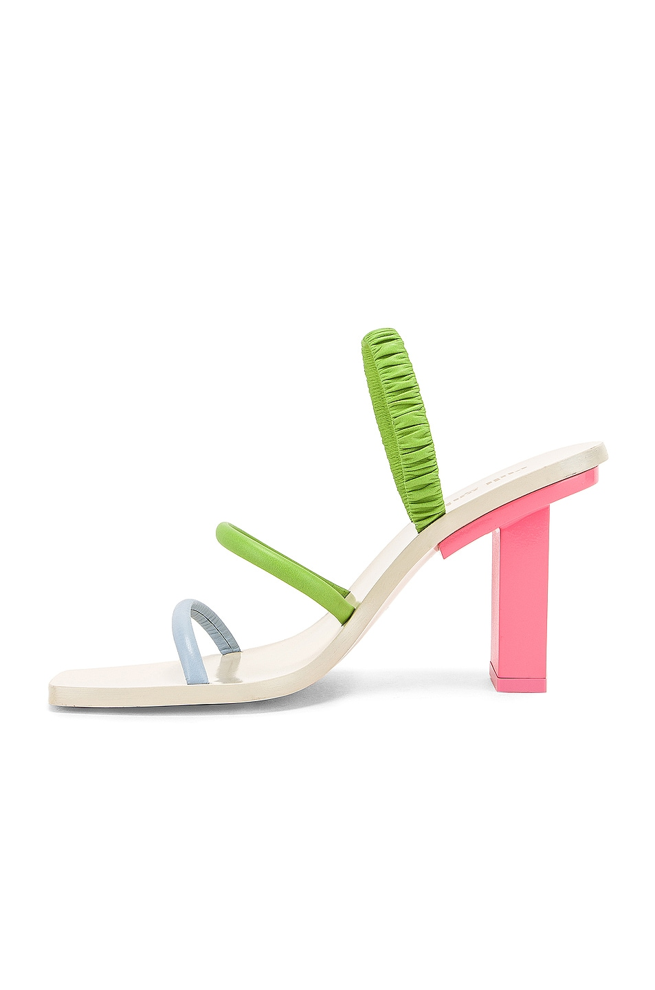 Image 5 of Cult Gaia Kaia Heel in Bubblegum Multi