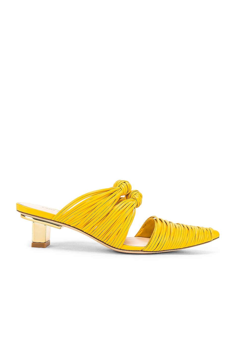 Image 1 of Cult Gaia Knot Mule in Marigold