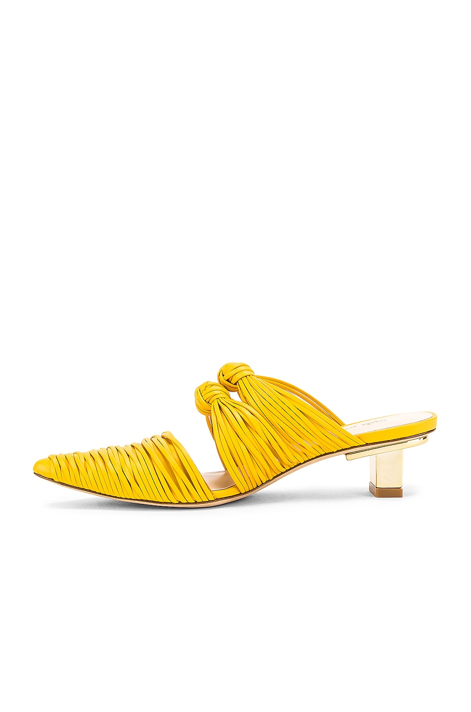 Image 5 of Cult Gaia Knot Mule in Marigold