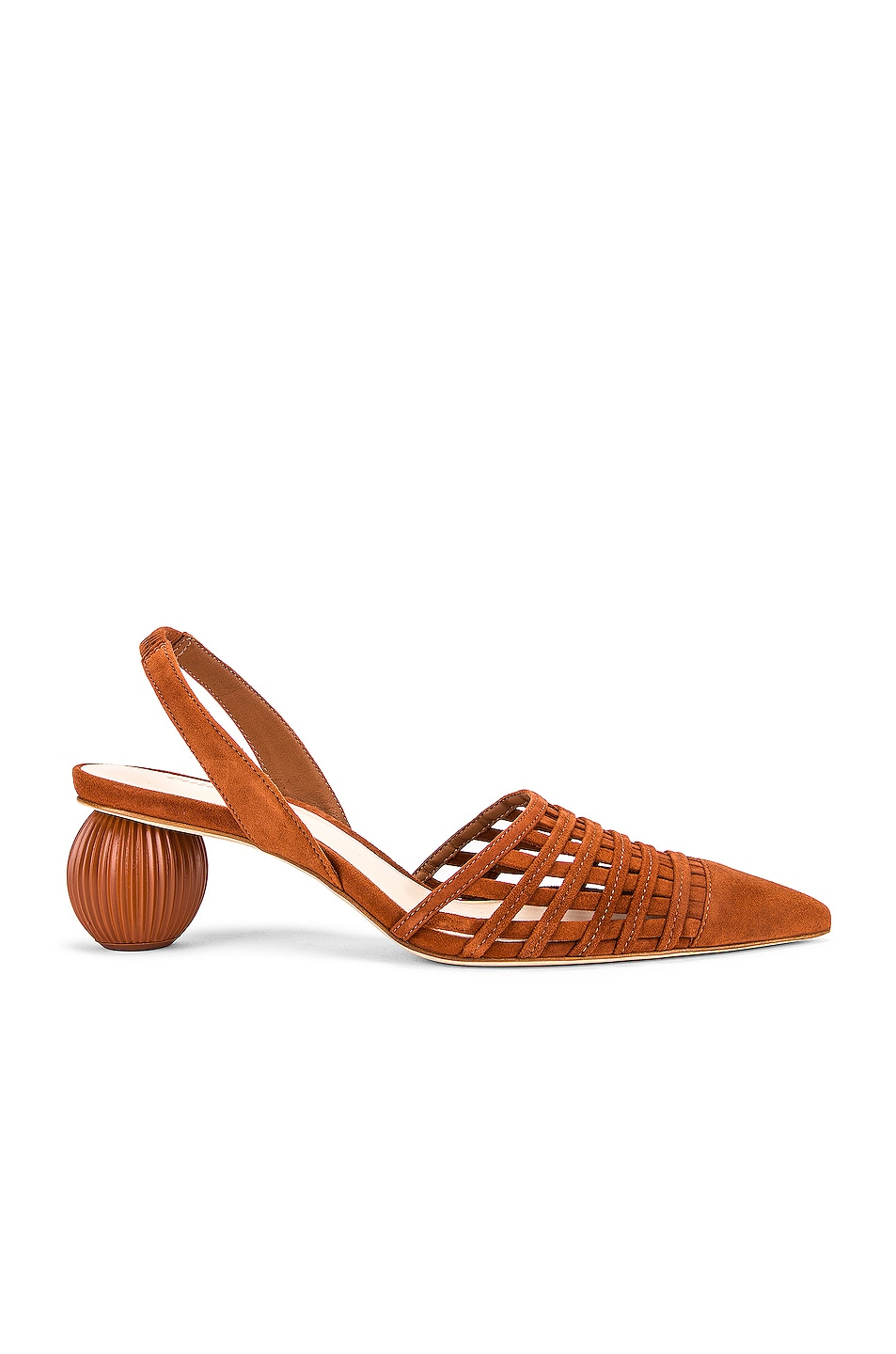 Image 1 of Cult Gaia Keri Slingback Heel in Nut