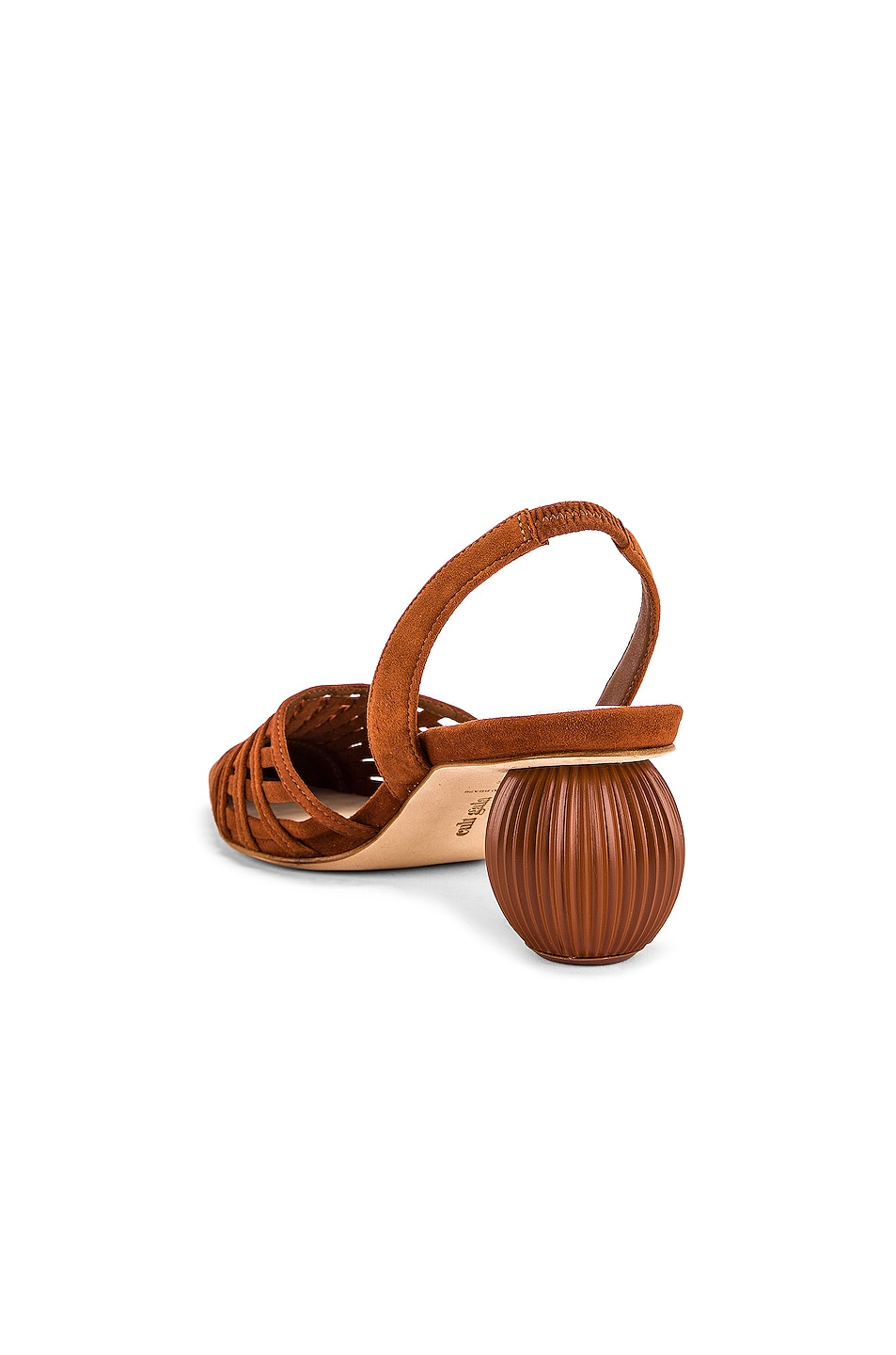 Image 3 of Cult Gaia Keri Slingback Heel in Nut