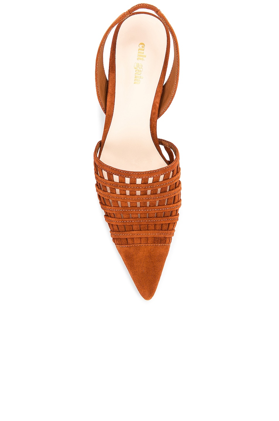 Image 4 of Cult Gaia Keri Slingback Heel in Nut