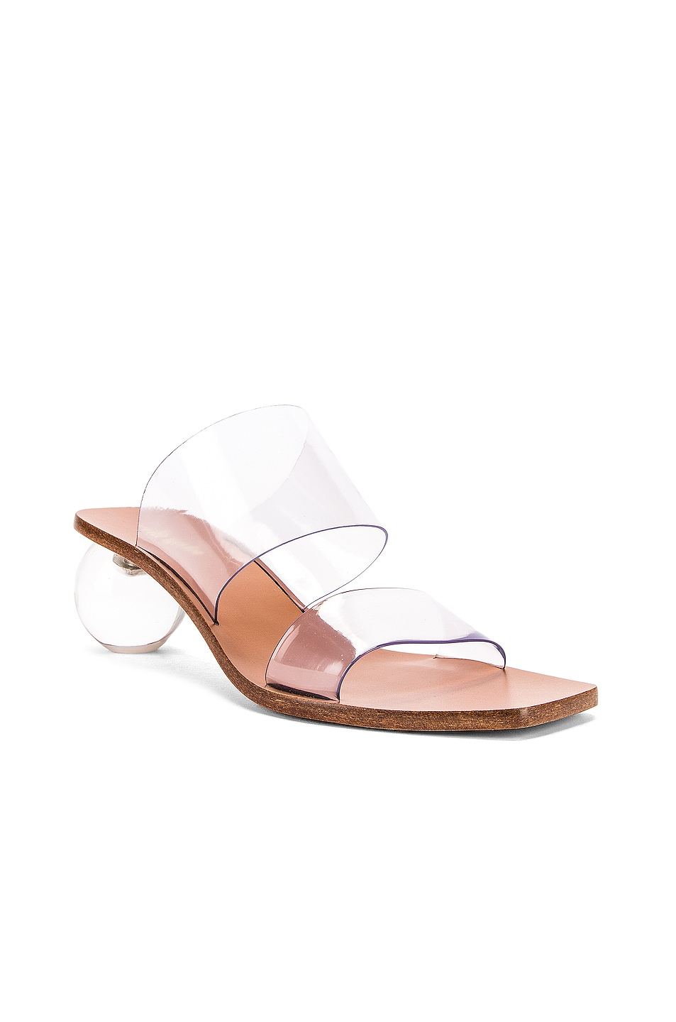 Image 2 of Cult Gaia Jila Sandal in Clear
