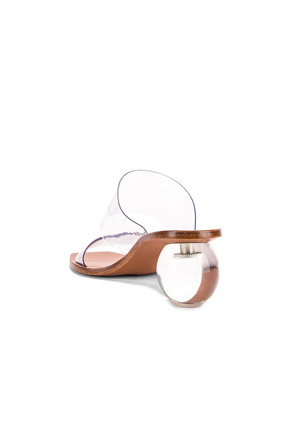 Image 3 of Cult Gaia Jila Sandal in Clear