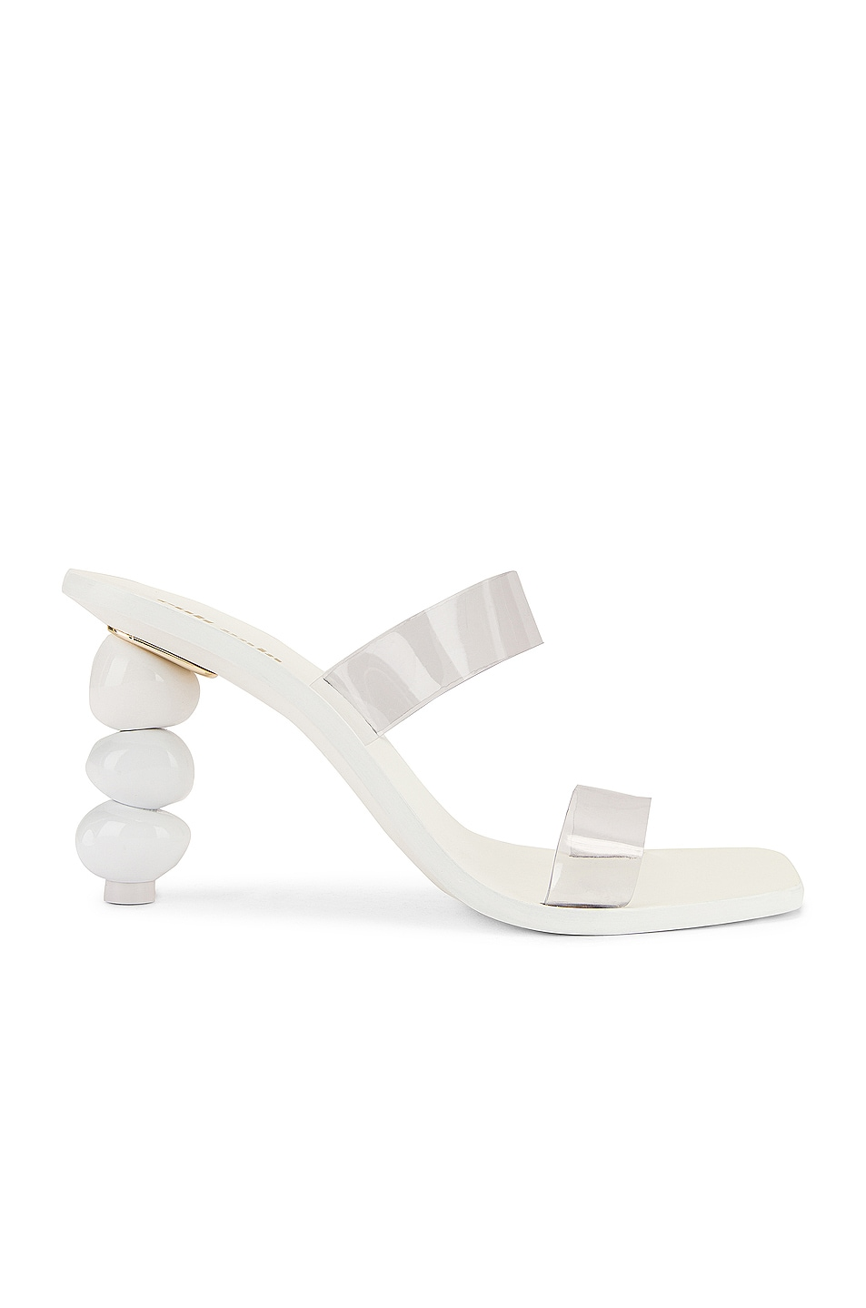 Image 1 of Cult Gaia Meta Heel in White