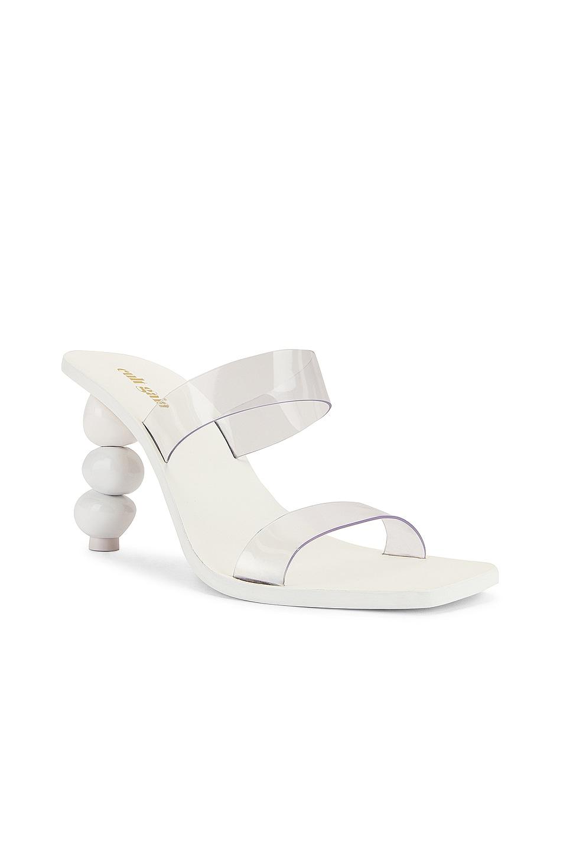 Image 2 of Cult Gaia Meta Heel in White