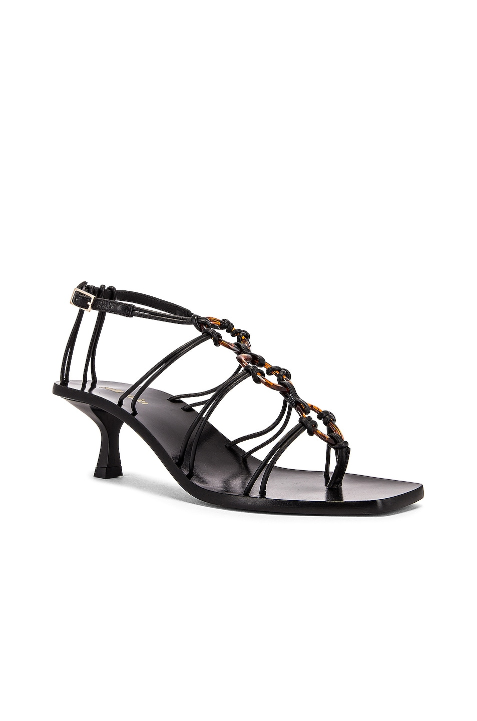 Image 2 of Cult Gaia Ziba Sandal in Black
