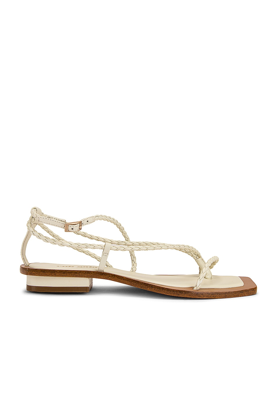 Image 1 of Cult Gaia Juno Sandal in White