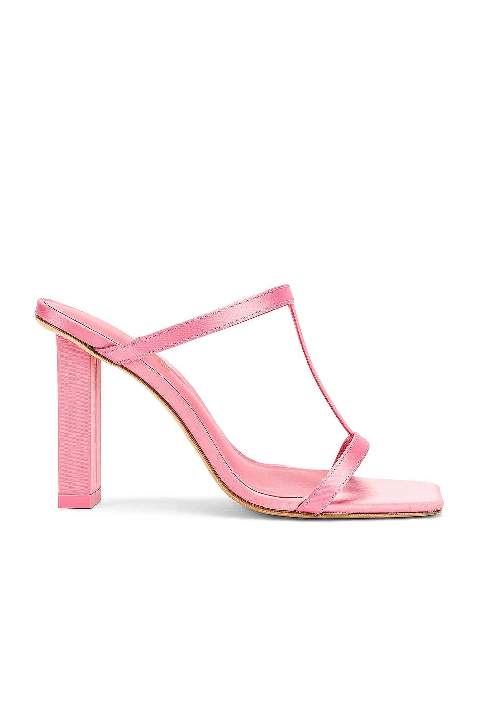 Image 1 of Cult Gaia Piper Heel in Rose