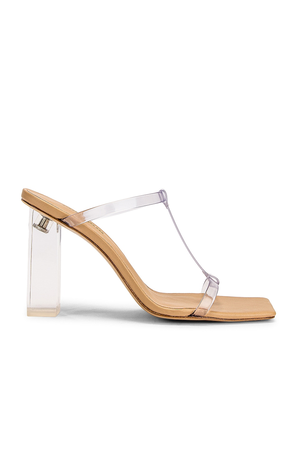 Image 1 of Cult Gaia Piper Heel in Clear