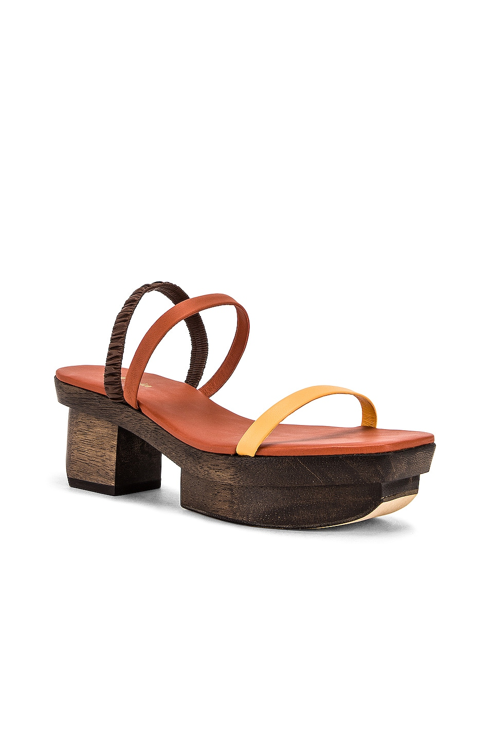 Image 2 of Cult Gaia Fifi Sandal in Spice