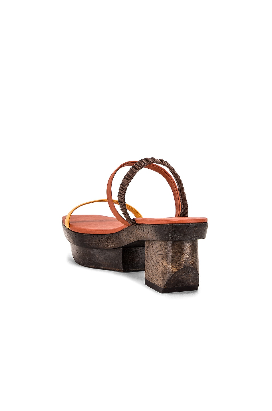Image 3 of Cult Gaia Fifi Sandal in Spice
